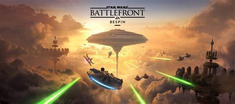 Wallpaper Star Wars Battlefront, Bespin, DLC, 4K, Games