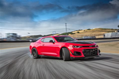 Chevrolet Camaro ZL1 1LE: 4th Place - 2017 Motor Trend
