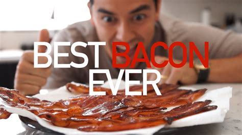 Easiest Way to Cook Bacon (no clean up or splatter