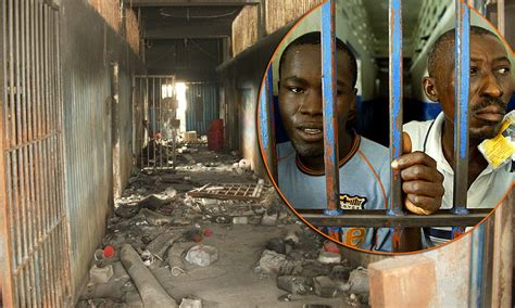 Haiti jail: On the trail of fugitive convicts after
