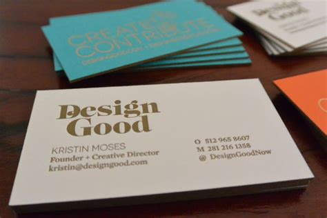 FPO: DesignGood Business Cards
