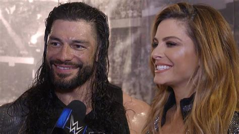 Roman Reigns and Maria Menounos close out 2019: WWE