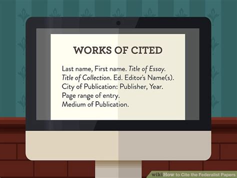 4 Ways to Cite the Federalist Papers - wikiHow