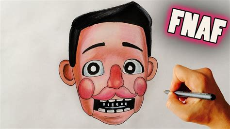 Toy Markiplier animatronic FNAF style HOW TO DRAW | Fnaf