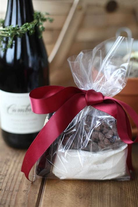 Wine & Chocolate Gift Basket with Lava Cake Gift Mix