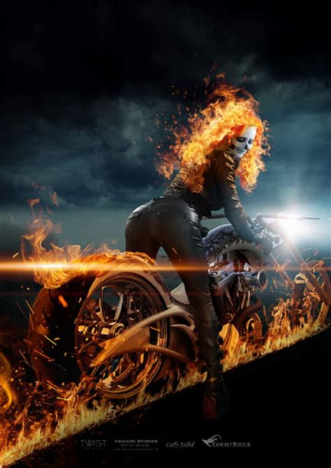 Rule 63 Ghost Rider Cosplay by Lady Jaded