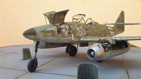 Trumpeter 1/32 Me 262 A-1a/U3 with AIMS Conversion | Large