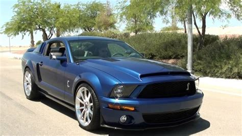 2007 Ford Mustang Shelby GT500 Super Snake Package - YouTube