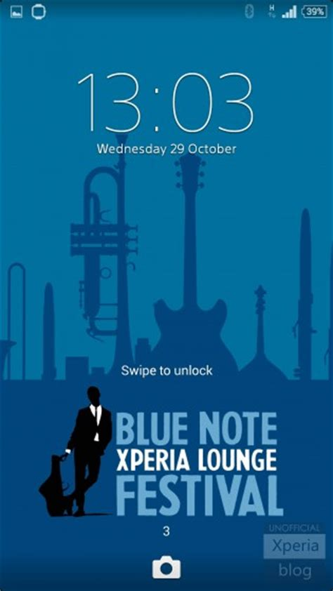 """Sony launches three """"Blue Note"""" Xperia Themes 