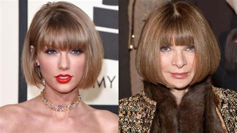 Taylor Swift Debuts an Anna Wintour Bob at the Grammy