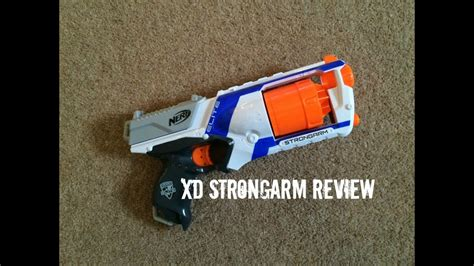 Nerf N-Strike Elite XD Strongarm Unboxing, Overview