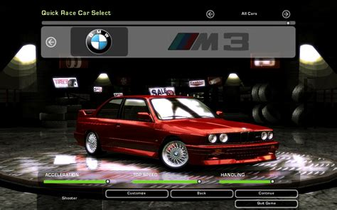 Need For Speed Underground 2 BMW M3 E30 | NFSCars