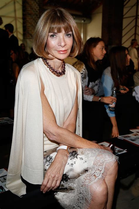 Anna Wintour Photos Photos - Missoni Front Row - Milan