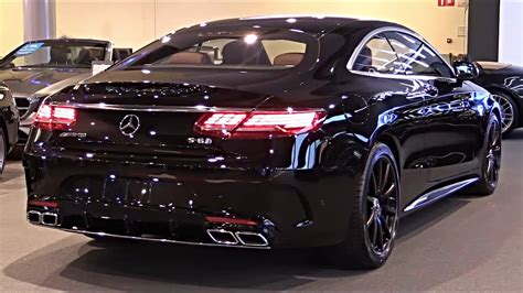 The 2020 MERCEDES AMG S63 4Matic+ Is A Beautifull Luxury