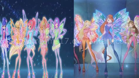 Winx Club Dreamix Transformations with Tynix song (with