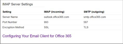 SMTP Settings for Outlook365 and Gmail - Angular