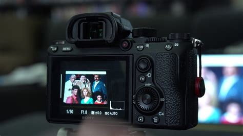 sony a7R iii / a7iii continuous eye focus in combi with