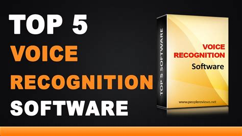 Best Voice Recognition Software - Top 5 List - YouTube