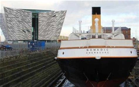 Titanic's 'little sister' became love of Roy Snowden's