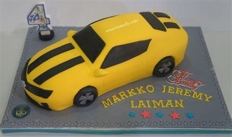 Butterfly Cake: 3D Bumble Bee - Transformer Cake