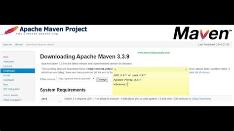 How to install Apache Maven 3