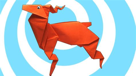 Origami Reindeer Instructions - YouTube