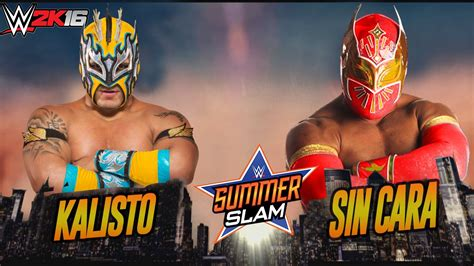 Kalisto VS Sin Cara (Epic Match Highlights) | WWE