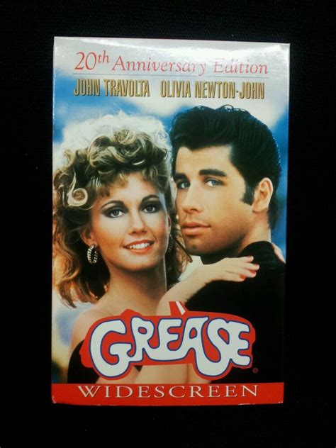 Grease (VHS, 1998) 20th Anniversary Edition Like New