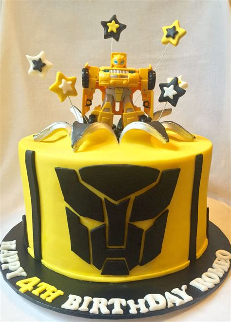 Bumble Bee Transformer cake - by Cupcakes for your Cupcake