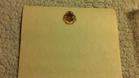 Hogwarts Parchment Paper-- Wizarding World of Harry Potter