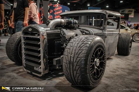 "SEMA 2018 - Mike ""Stanceworks"" Burroughs Ford Model A"
