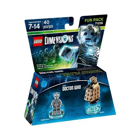 LEGO Dimensions Doctor Who Cyberman Fun Pack (71238